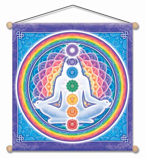 Light Body Meditation Banner by Bryon Allen of Mandala Arts